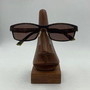 Ultem Green Camo Oval Sunglasses Frames